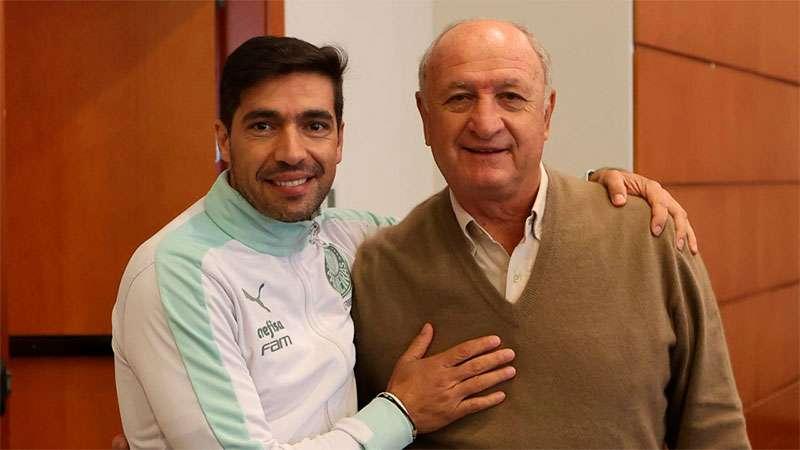 Felipão e Abel Ferreira se encontram em hotel em Caxias
