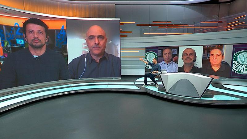 Maurício Galiotte rebate Abel Ferreira no SporTV