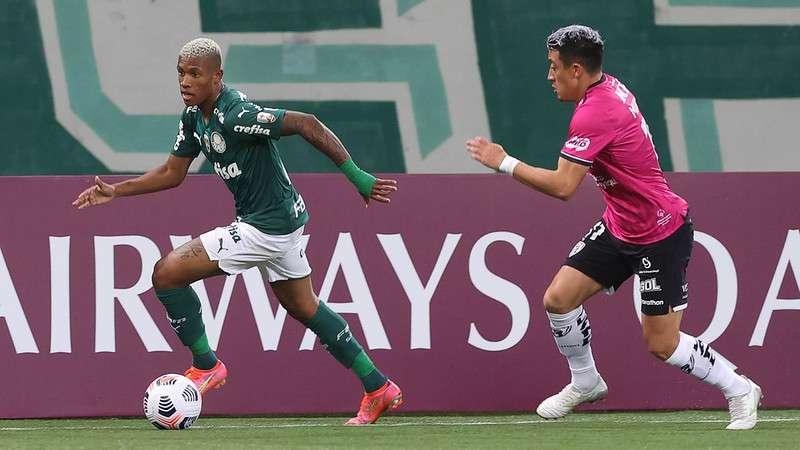 Jogadores comentam, em vídeo, vitória do Palmeiras sobre o Independiente Dell Valle