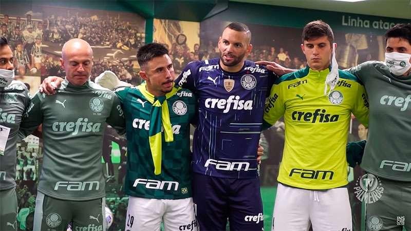 TV Palmeiras mostrou os bastidores da vitória sobre o Fluminense