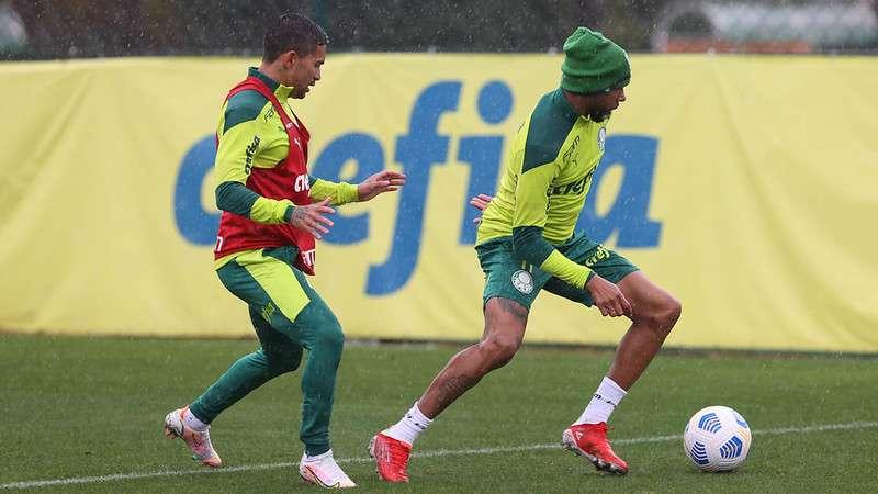 Treino do Palmeiras na Academia de Futebol