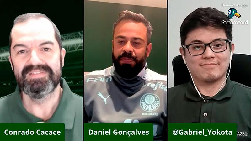 Daniel Gonçalves, coordenador científico da SE Palmeiras, em entrevista exclusiva ao Verdazzo