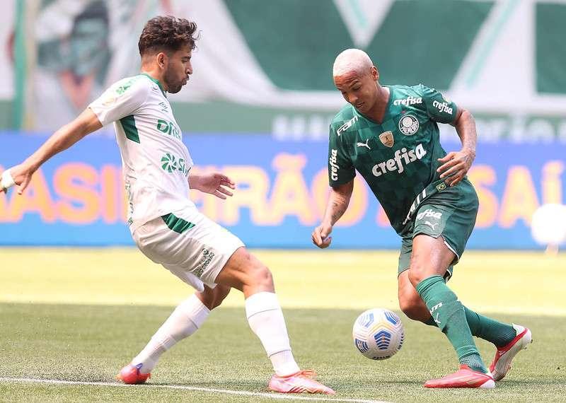 O Palmeiras foi derrotado pelo Cuiabá no Allianz Parque