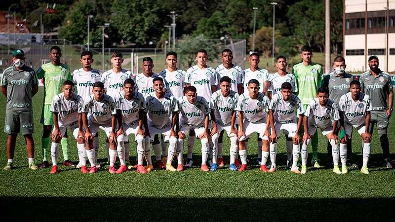 Equipe Sub-16 do Palmeiras disputará o título inédito da Paulista Cup