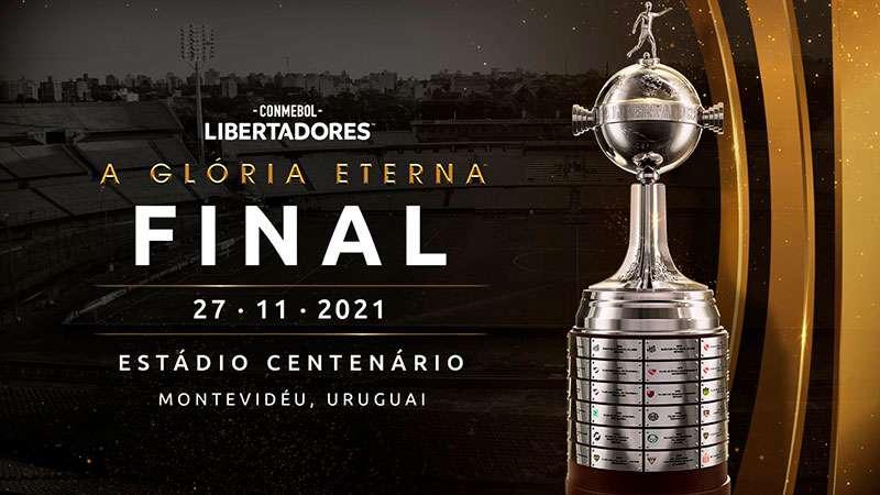 Conmebol divulga datas e preços dos ingressos para a final da Libertadores 2021.