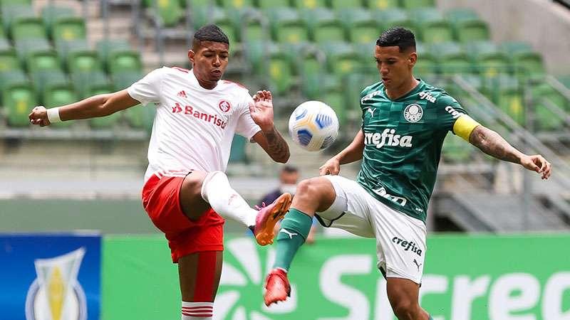 Palmeiras empata com o Internacional e é eliminado do Campeonato Brasileiro Sub-20.